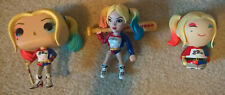 HARLEY QUINN assorted figure collection lot Funko Rock Candy Dorbz
