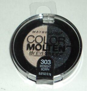 Maybelline Eye Studio Color Molten Eyeshadow Duo MIDNIGHT MORPH 303 Sealed