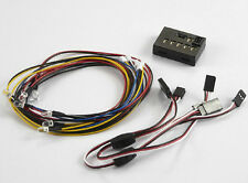 Schumacher Escala 1/10th Conjunto de luz LED Con Controlador Caja 8 LED KB48100