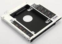 2nd Hard Drive HDD SSD Caddy Adapter For Dell INSPIRON 1564 1764 1464 Swap GT30N