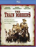 THE TRAIN ROBBERS NEW BLU-RAY