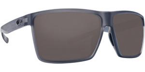 Costa Del Mar Rincon Polarized 580P Lens Smoke Crystal Sunglasses RIN 156 OGP