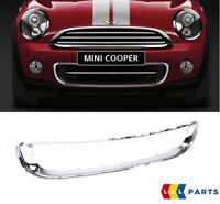MINI NEW GENUINE R55 R56 R57 R58 R59 FRONT BUMPER LOWER GRILLE CHROME SURROUND