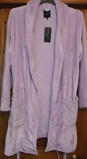 INSPIRE lilac dressing robe size 24/26  above the knee shorter length.  new...e