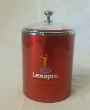 Lexapro RX Pharmaceutical Advertising Drug Rep Canister Container Supply Jar