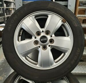 "Genuine MINI Revolite 517 15"" Alloy Wheels and Tyres"
