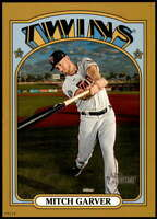 Mitch Garver 2021 Topps Heritage 5x7 Gold #449 SP /10 Twins