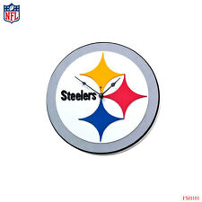 New NFL Pittsburgh Steelers 3-D Foam Wall Clock Made in USA by FoamFanatics