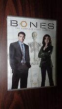 Bones: The Complete First Season DVD Set, 4 Discs, Special Features Included EUC