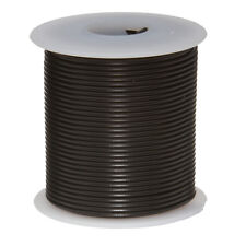 "20 AWG Gauge Solid Hook Up Wire Black 25 ft 0.0320"" UL1007 300 Volts"