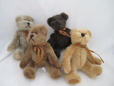 Russ Berrie Lot of 4 Bears from the Past 4 Colors