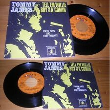 TOMMY JAMES - Tell 'Em Willie Boy's A' Comin' French PS Pop Rock 72'