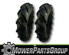 (2) Troy Bilt Horse Garden Tiller Tires 4.80/4.00-8   4.8x4-8    4.80-4.00-8