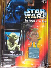 Yoda w/Jedi Trainer Backpack - Power of the Force 1995  **STAR WARS** UNOPENED