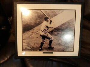 Babe Ruth 60th Home Run In 1927 Copperstone Collection Picture Framed