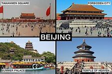 SOUVENIR FRIDGE MAGNET of BEIJING CHINA