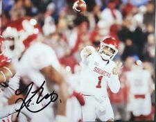 Kyler Murray Quarterback Oklahoma Sooners Signed 8x10 Autographed Photo Reprint