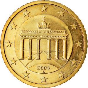 [#766656] République fédérale allemande, 50 Euro Cent, 2004, SPL, Laiton, KM:212
