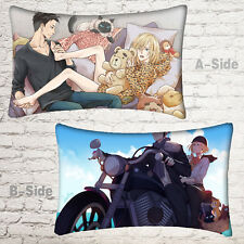 Japan Anime YURI!!! on ICE Yuri Plisetsky Otabek ALTIN Pillow Case Dakimakura #F