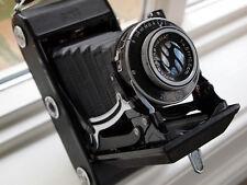 Vintage Carl Zeiss IKONTA C 6x9 cm 120 film camera rival Voigtlander Bessa I II