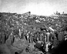 New 8x10 Civil War Photo: Federal Soldiers at Andersonville Prison, Georgia