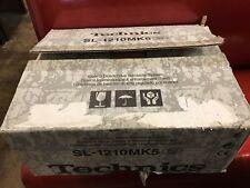 Technics turntable SL-1210 MK5 BRAND NEW IN BOX
