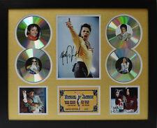 Michael Jackson Signed Limited Edition Framed Memorabilia (g)