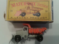 Matchbox A Lesney Scammell Mountaineer Snow Plough Nr. 16 in OVP