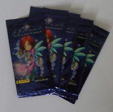 LOT DE 5 POCHETTES PANINI TRADING CARDS WITCH LE FUTUR EN POCHE 2006