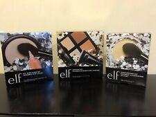 ELF Cosmetics 3 set HUGE LOT All Over Glow Set Contour Highlighting Brush NEW!!!