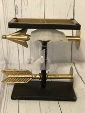 "Uniek Inc. Design 211137 Archer 8x7"" Rustic Bookends Set Of Two !NEW!"