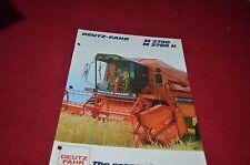Deutz Fahr M2780 M2780H Combine Dealer's Brochure DCPA2