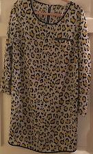 Definitions Leopard Print Dress Size 10 BNWT B3