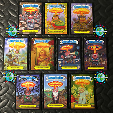 GARBAGE PAIL KIDS 2013 BNS3 BLACK ADAM BOMBING SET OF 10 BRAND-NEW SERIES 3 bomb