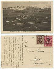 31920 -Assling mit Wendelstein -Ansichtskarte, gelaufen 4.8.1922 - INFLA-geprüft