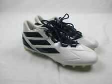 adidas - White/Navy Cleats (Men's 13) - Used