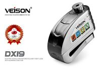 Anti Vol Bloque Disque Pour Moto Scooter Alarme 130dB 3 clefs sécurité Lock DX19