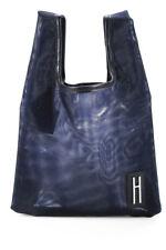 Hayward Para Mujer Mini Shopper Hombro Bolso de Mano Rosa Azul Marino