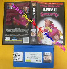 VHS film ELIMINATE SMOOCHY 2002 Robin Williams Danny Devito Norton (F132) no dvd