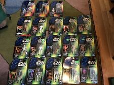 STAR WARS POWER OF THE FORCE  MISC FIGURES + DEATH STAR ESCAPE LOT