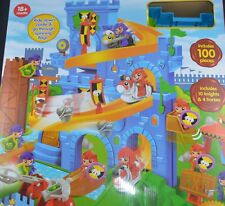 MAJESTIC KNIGHTS SIEGE CASTLE PLAY SET WITH PLAY MAT