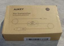 Aukey BT-C5 FM Transmitter For SmartPhone & MP3/MP4 Car Kit & USB Charging Port
