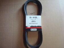 "1/2 X 125"" DECK Belt replaces CUB CADET, MTD 954-04325, ZERO TURN"