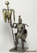 Tin soldier, figure. Byzantine standard-bearer 75mm