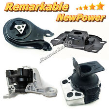 G253 Fits 2004-2011 Mazda 3 2.0L Engine Motor & Trans Mount Kit 4PCS Brand New
