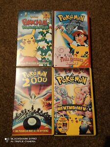 Pokemon VHS collection complete with Promo Mewtwo card