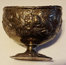 Silverplate Footed Candy/Nut Bowl Israel Freeman & Sons Ltd. England 1900-1940
