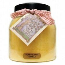 Keepers of the Light Candle - Honeysuckle Vanilla - 34-oz Papa Jar/Tag