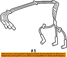 FORD OEM Ignition Spark Plug-Wire OR Set-See Image 3L3Z12259AB