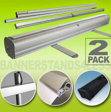 33x79 Retractable Banner Stand Wholesale Roll Up Trade Show Display - 2 PACK